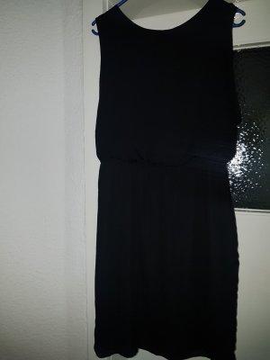 1982 Sukienka z krótkim rękawem czarny