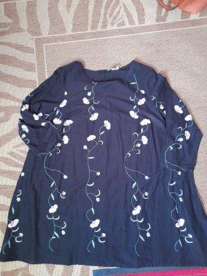 Angel of Style Robe d'été noir coton