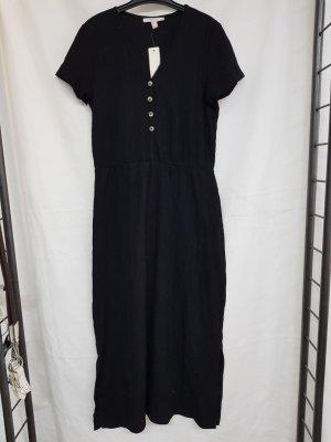Esprit Robe mi-longue noir-violet