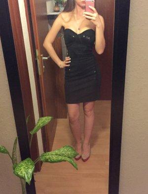 Schwarzes Kleid, Größe 34, Silvesterkleid