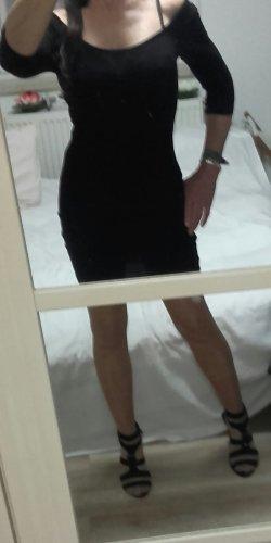 Schwarzes Kleid Melrose 38