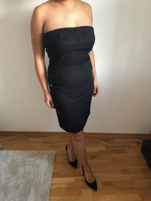 Michael Kors Sukienka midi czarny Bawełna