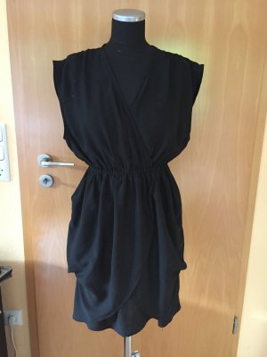 Schwarzes Kleid, Mini, ohne Arm, H&M, Gr. 36