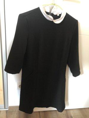 Clockhouse Sukienka z długim rękawem czarny-biały