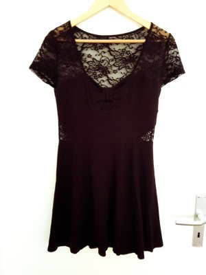 andere Marke Robe à manches courtes noir