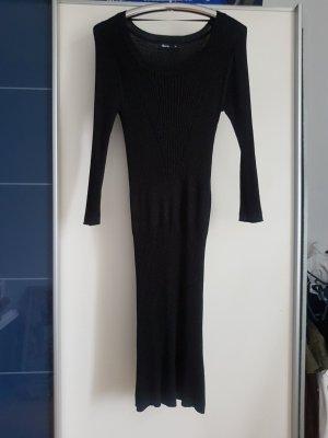 Schwarzes Kleid mit Glitzer Gr. 38-40