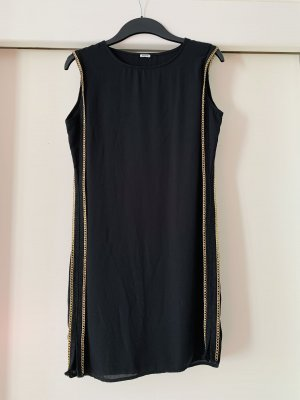 Schwarzes, Kleid mit Gold von Pimkie, Größe 38