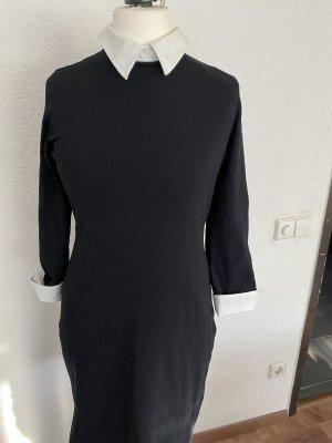 Lauren by Ralph Lauren Vestido elástico blanco-negro