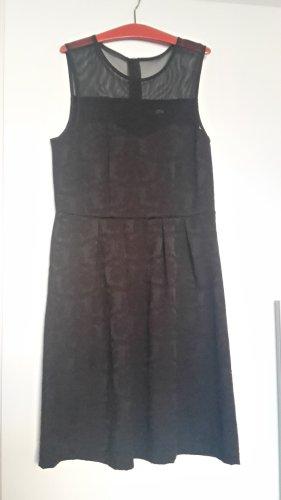 Ann Christine A Line Dress black polyester