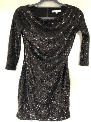 Glamorous Robe à paillettes noir