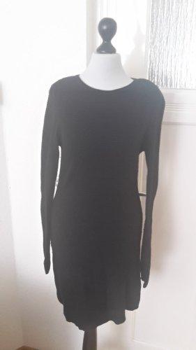 schwarzes Kleid - mit Reißverschluss im Rücken- ZARA