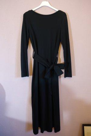 COS Robe en jersey noir coton