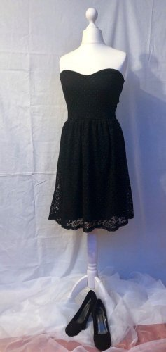 Pimkie Lace Dress black-gold-colored