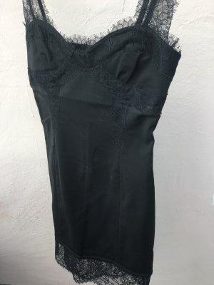 Twin set Vestido corsage negro
