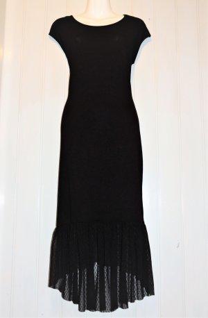 Bodyflirt Asymetryczna sukienka czarny Wiskoza