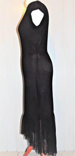 Schwarzes Kleid mit Spitze von Bodyflirt Größe 36/38 NEU