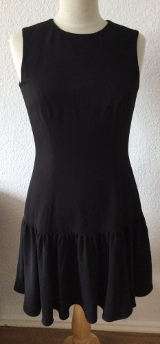 Mint&berry Vestido estilo flounce negro