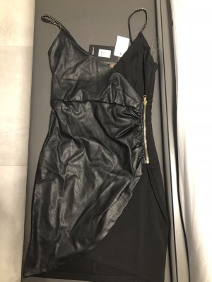 Fashionnova Leather Dress black