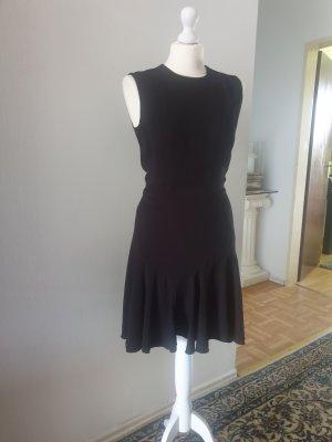 Mango Sukienka z falbanami czarny