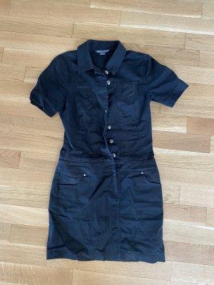 Armani Exchange Denim Dress black