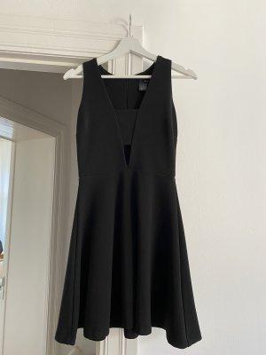 Aqua Mini Dress black