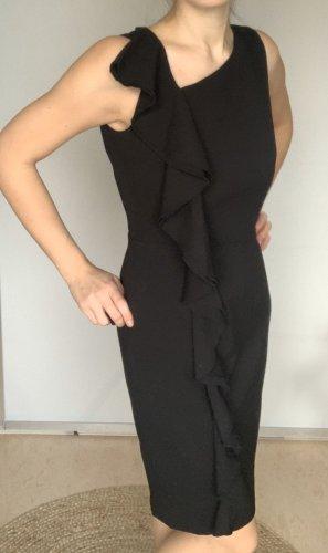 Calvin Klein Falda estilo lápiz negro