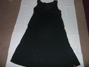 Esprit Robe à bretelles noir tissu mixte