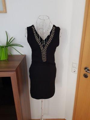 Madonna Vestido tipo overol negro