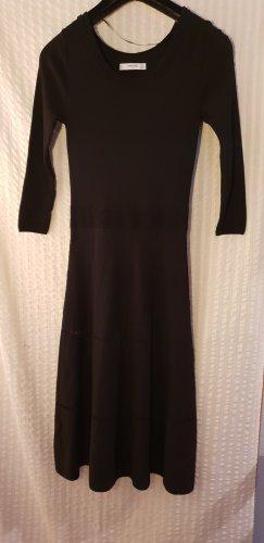 schwarzes Kleid von Mango ,Gr 36,  schwarz