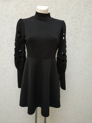 SheIn Vestido cut out negro