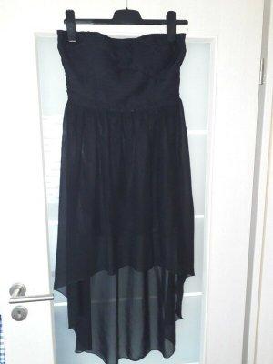 Schwarzes Kleid von Vila schulterfrei Größe 38 Abendkleid Abschlussballkleid