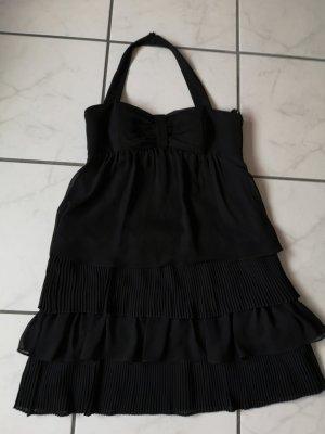 schwarzes knielanges Kleid Gr. 36