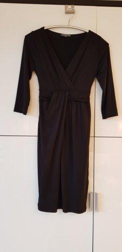Montego Vestido cruzado negro