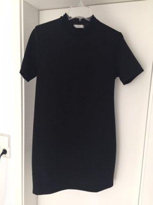 Mango Dress black mixture fibre
