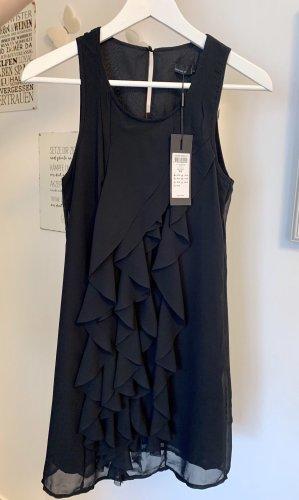 Vero Moda Sukienka z falbanami czarny