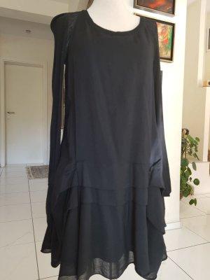 Chloé Sukienka z długim rękawem czarny Jedwab