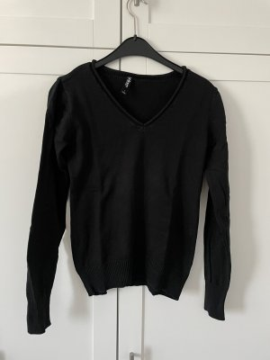 Colours of the World V-Neck Sweater black