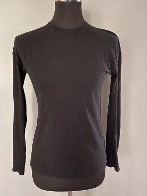 Schwarzes Langarmshirt von Na-kd, Gr. XXS