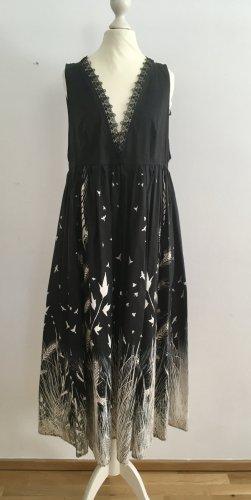 schwarzes langes Kleid von Elisabetta Franchi/ Neu