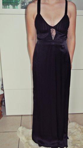 schwarzes, langes Kleid Zara Neu