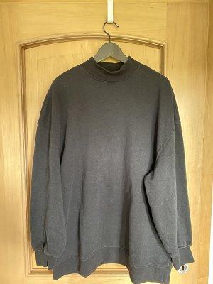 Schwarzes langes Sweatshirt von H&M
