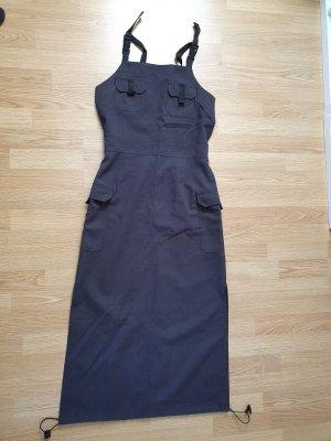 Schwarzes Langeskleid