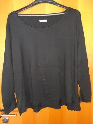 schwarzes Langsam Shirt in Gr. 52/54