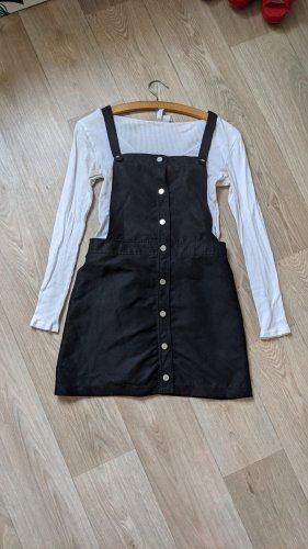 H&M Overgooier overall rok zwart