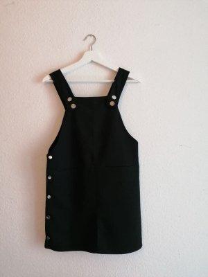 Boohoo Robe courte noir tissu mixte