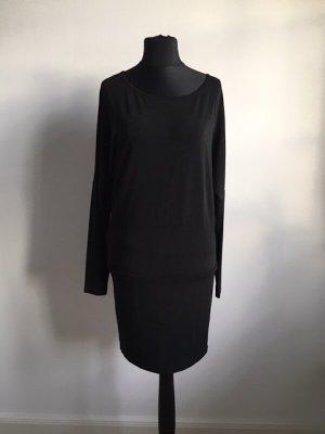 Schwarzes leichtes Kleid Oberteil von Mango, Gr L