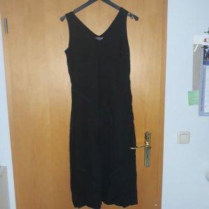 Cinque Sukienka na ramiączkach czarny Len