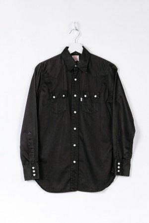 Schwarzes Levi's Langarmhemd in S