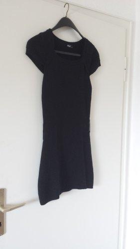 schwarzes Longshirt/Minikleid