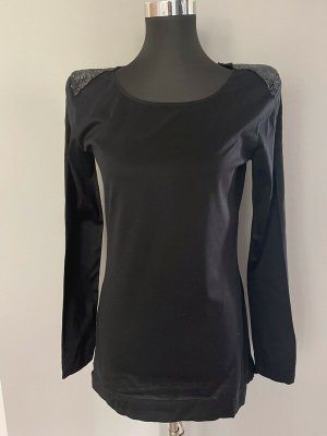 Drykorn for beautiful people Long Shirt black cotton